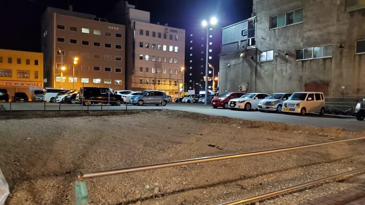 十勝 帯広 駐車場 工事