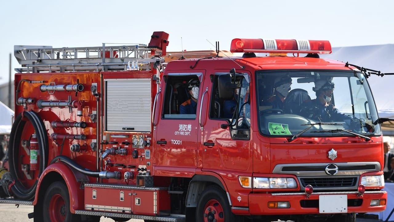 西十二条南2丁目で火事